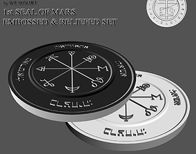 3D printable model 1st Seal of Mars