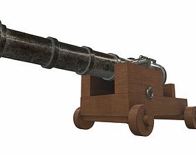 Cannon 5 3D model