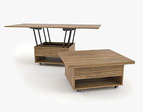 3D Table Coffee Como by Zegen
