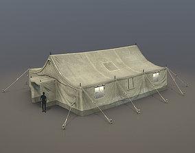 Military Tent 01 Desert 3D asset