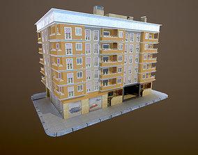 apartment building Building 3D model