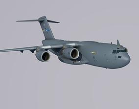3D asset Boeing C 17 Globemaster 3