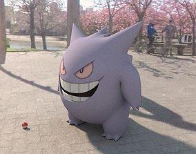 3D model Pokemon Gengar
