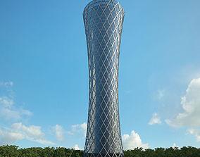 3D model Tornado Tower