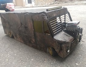 3D printable model Rc truck mad max rat type drift