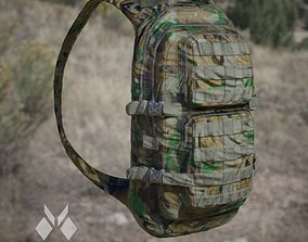 Military BackPack Jungle Desert and Urban colour 3D asset