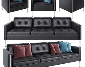 3D Ligne Roset Andy sofa and armchair