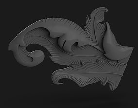 3D printable model Feather Design