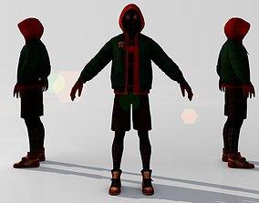 3D model Spider-Man - Miles Morales