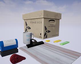 3D model Office Stationery