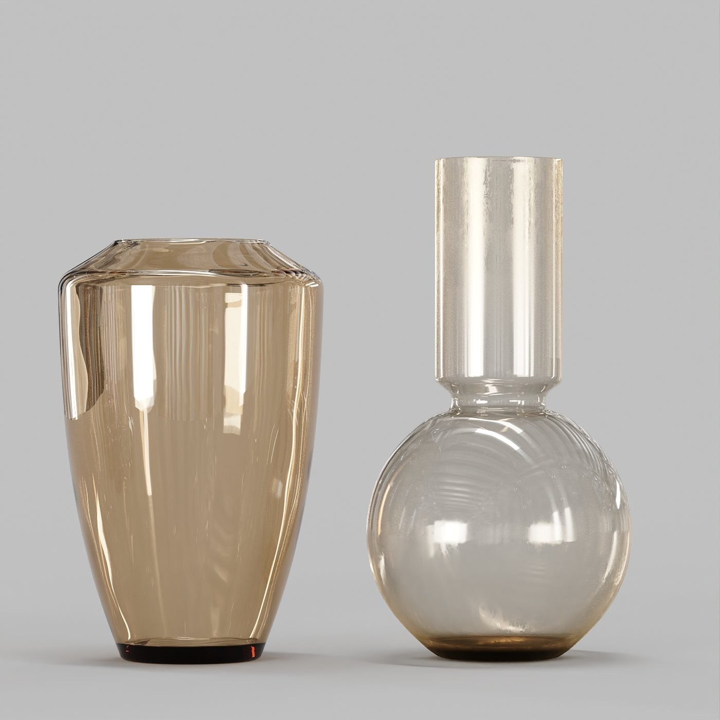 Decorative Set No3 - Vase and Dried Plant Collection