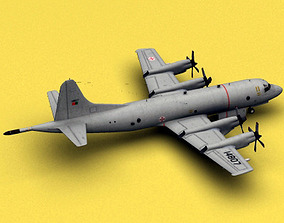 3D model P-3 Orion Portugal