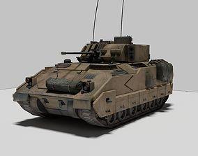 3D model Military Vehicle Bradley