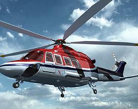AW139 AgustaWestland 3D model