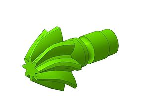 moto gear shaft 3D model