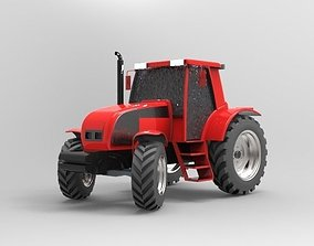 Farm Tractor New Holland and Case 3D model