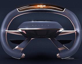 3D automotive Car Steering