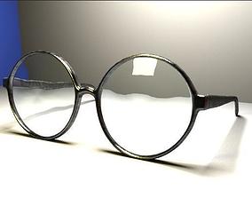 round Glasses 3D