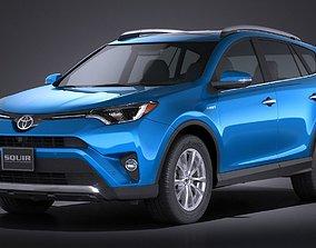 Toyota RAV4 Hybrid 2016 3D