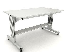 adjustable working table 3D model