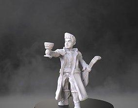 Halfling bard 3D printable model