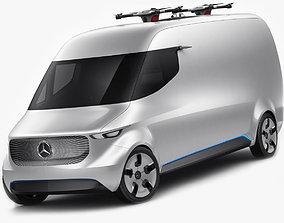3D Mercedes Vision Van Concept