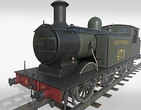 3D model Steam Train