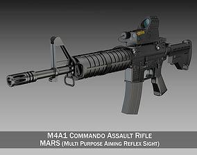 3D model Colt M4A1 Commando MARS