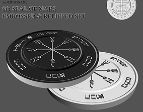 6th Seal of Mars 3D printable model