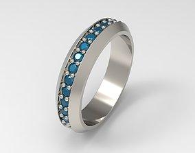 3D print model David Yurman Streamline Band Ring Eu 60