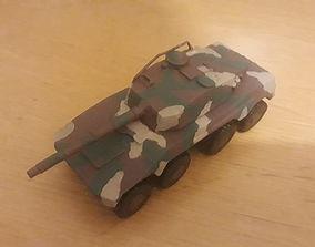 Rooikat Armoured Car 3D printable model