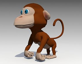 3D model realtime Monkey Animated