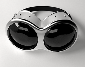 3D model Steampunk Goggles