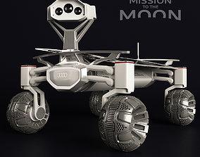 Moon Rover Quattro 3D model