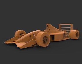 formula I 3D print model