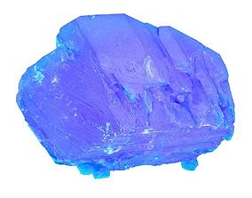 Blue Salt Crystal 1 3D asset