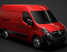 Vauxhall Movano L1H2 Van 2020 3D
