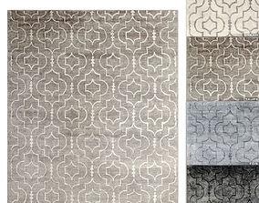 Medallione Rug RH carpet 3D model