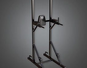 Weight Lifting 06a - Sports And Gym 3D asset