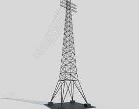 energy Power Line 3D model