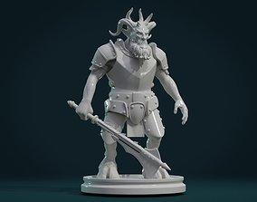 Demon figure III 3D printable model