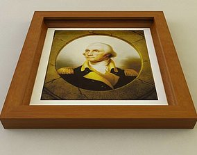 3D model Picture Frame Style E