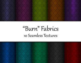 Burn Fabrics Seamless Textures Set 3D