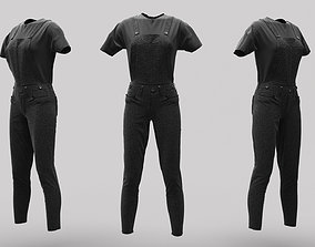 Female Clothing 02 3D asset