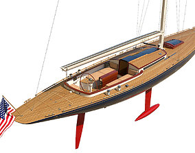 Leonardo Yacht Eagle 54 3D model