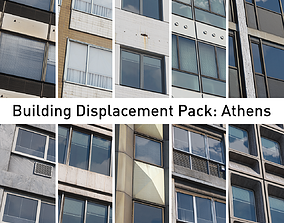 Building Displacement Pack Athens 3D model