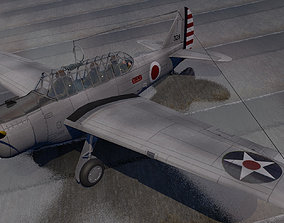 North American O-47 3D model