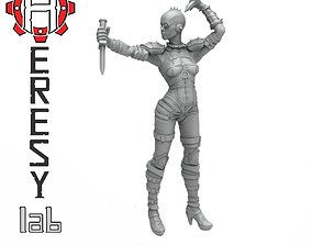3D print model Heresylab - Female Assassin 2