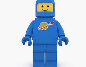 Lego Spaceman 3D asset