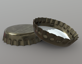 Bottle Cap 3D model VR / AR ready